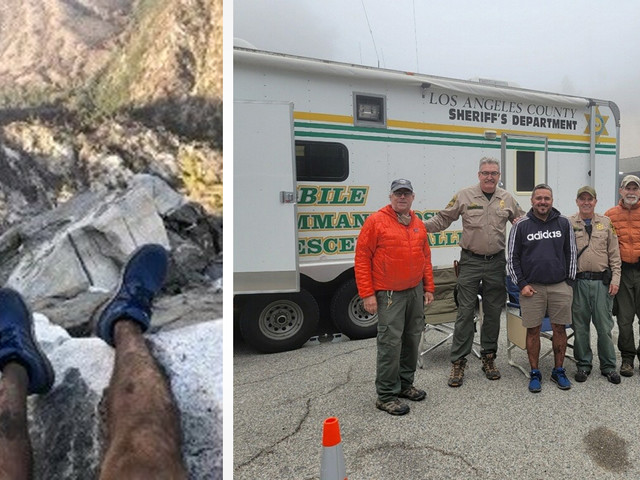 Hiker Rescued After Man on Twitter Located Him From a Photo of His Feet
