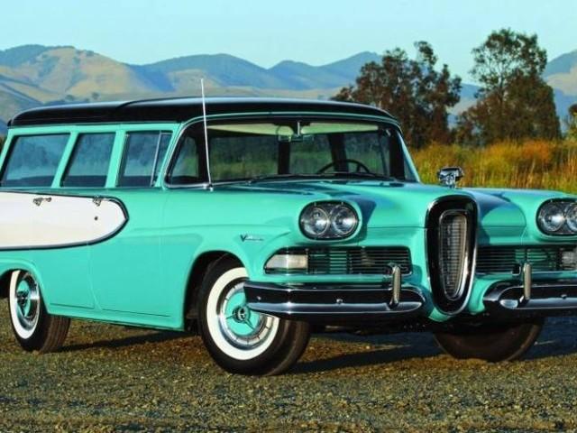 Exclusive motoring – 1958 Edsel Villager
