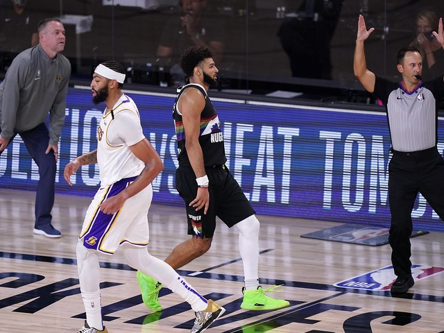 Nuggets hold off Lakers, trail 2-1 in NBA Western Conference finals