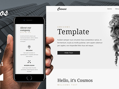 Cosmos Email Template + Online Emailbuilder 2.1 (Newsletters)