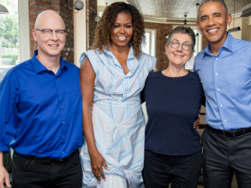 The Obamas Drop Storytelling Gems As Their 1st Netflix Series Premieres + Oh, They Also Copped An Insane Martha's Vineyard Megamansion