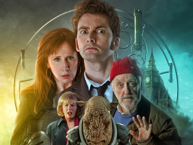 David Tennant and Catherine Tate return as the Doctor and Donna!