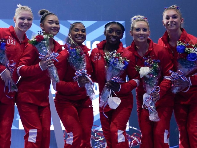 Meet Team USA's women's gymnastics team in these incredible images of Simone Biles and the Tokyo squad
