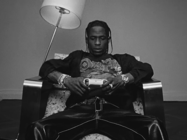 Travis Scott Is Now a Strategic Creative Partner for Playstation