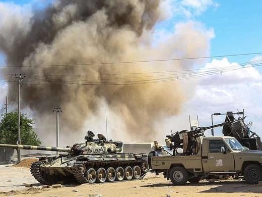 "UN SaysLibya Arms Embargo ""A Joke"" AsOil Export Blockade Reaches One Month"
