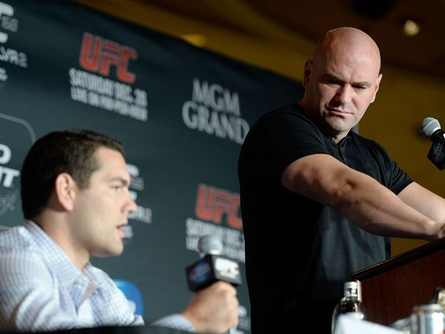 White says he needs to have a 'conversation' with Weidman about retirement