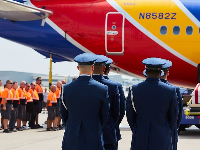 A Southwest pilot flew his father's remains home after they were identified from the Vietnam War