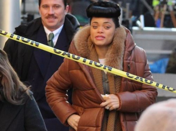 Andra Day Nails Jazz Legend Billie Holiday In New Flicks From 'The United States Vs. Billie Holiday' Movie Set