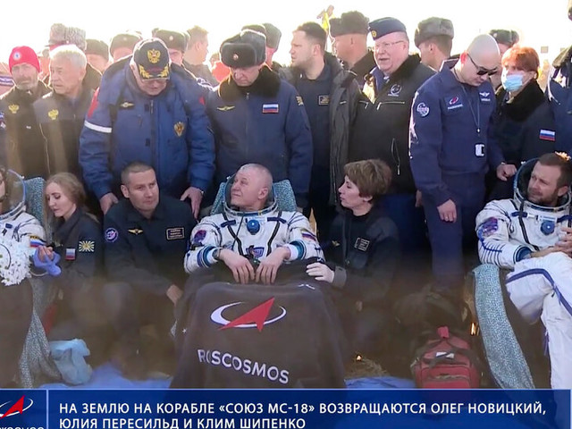 Russian Film Crew Wraps Space Station Shoot and Returns to Earth