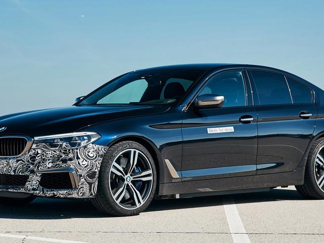 BMW's Power BEV Trial Vehicle Is A 710 HP 5-Series Sedan