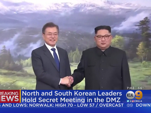North, South Korean Leaders Meet To Discuss U.S.-North Korean Summit