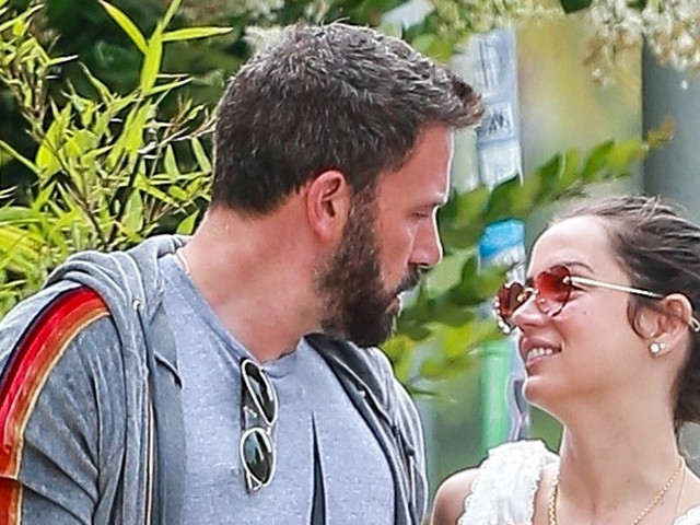 Ben Affleck & Ana de Armas Take a Stroll With Their Dogs Over Memorial Day Weekend