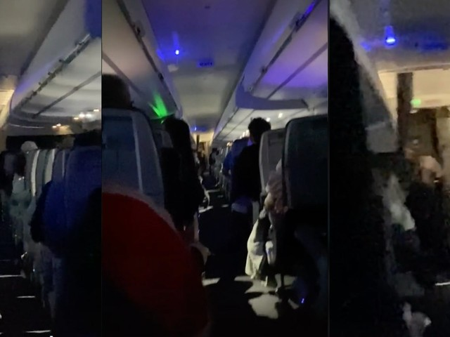 Viral TikTok shows flight attendant criticizing passenger for allegedly breaking mask policy and calling crewmember 'gorilla'