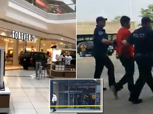 Man, 22, who drove an SUV into a Chicago mall has a health condition that requires medication