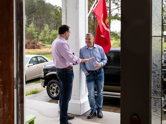 From Cockpit to Campaign, Two Marine Airmen Gun for the House
