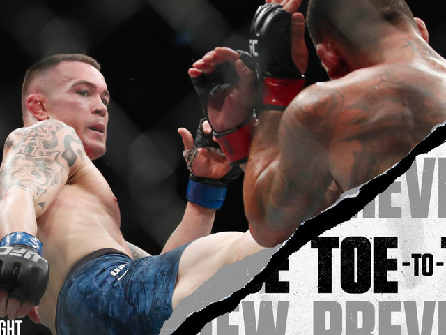 UFC Newark: Colby Covington vs. Robbie Lawler Toe-to-Toe Preview