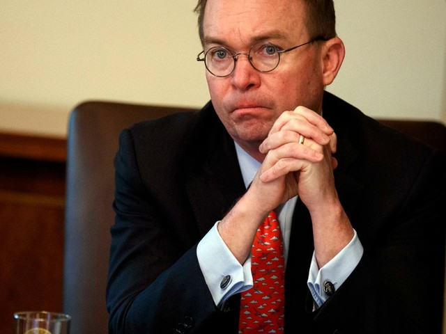 Mulvaney says Democrats will 'never' see Trump's tax returns