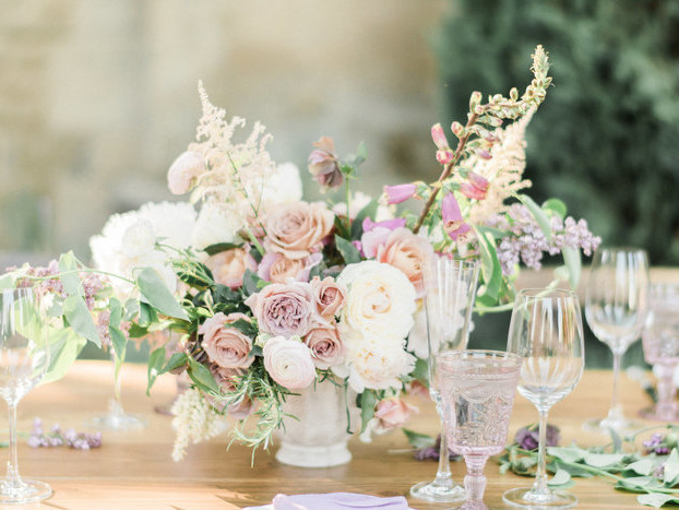 A Black-Tie Affair in the Most Romantic Garden Setting
