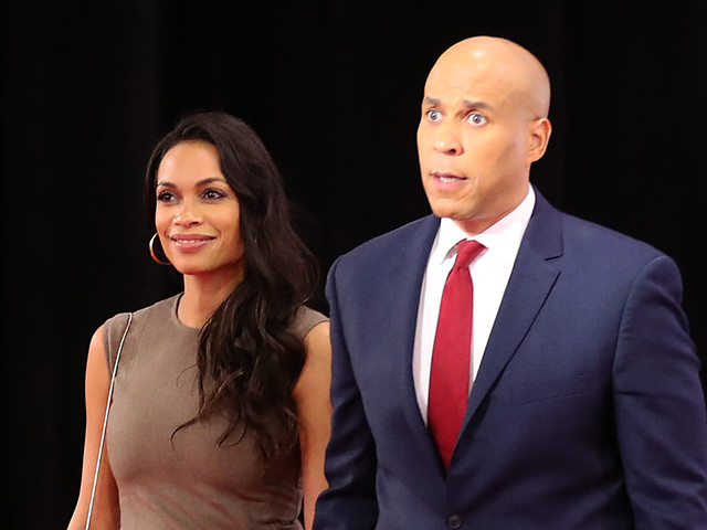 Fans Mourn 'First Lady Rosario Dawson' Dream After Cory Booker Drops Out of Presidential Race