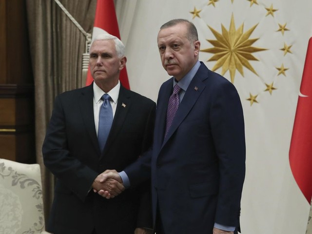 Pence: Turkey agrees to five-day cease-fire to withdraw Kurdish fighters