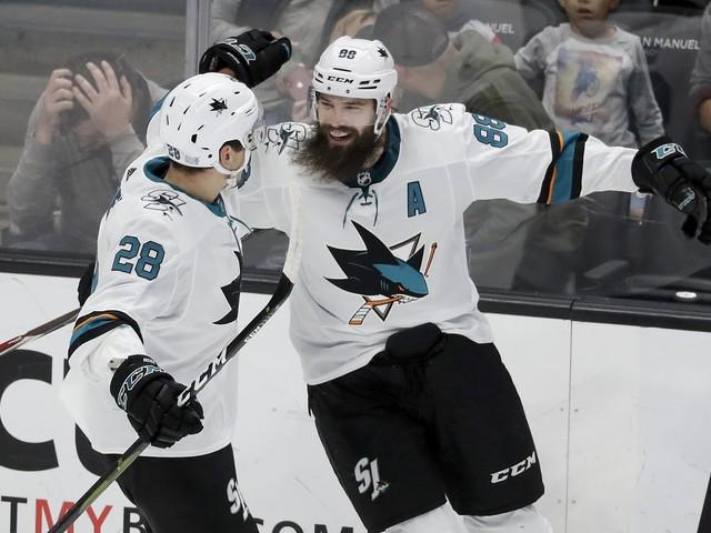Sharks' Hertl scores twice as San Jose win streak stretches to 5 games