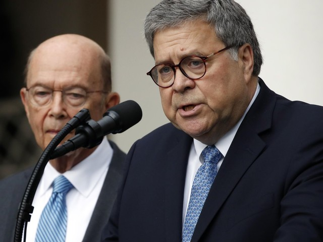 William Barr, Wilbur Ross held in criminal contempt over 2020 census by House