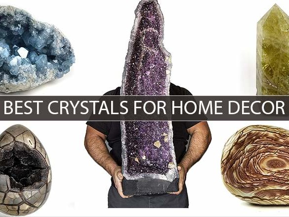 21 Best Crystals For Home Decor You Can Buy on Amazon