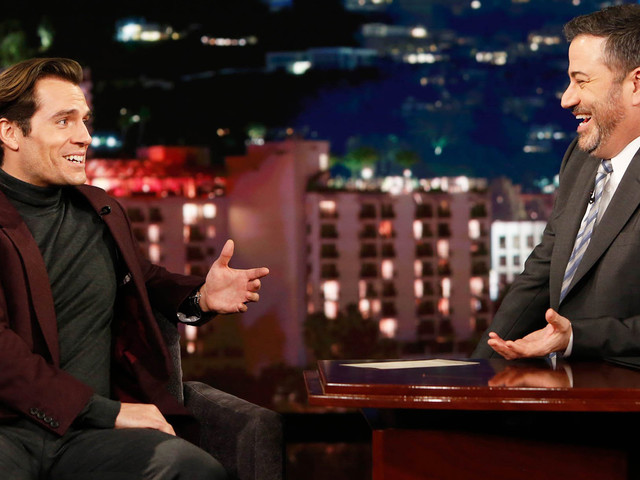 Henry Cavill Tells 'Kimmel' It Was 'Important' He Performed His Own Stunts in 'The Witcher'!