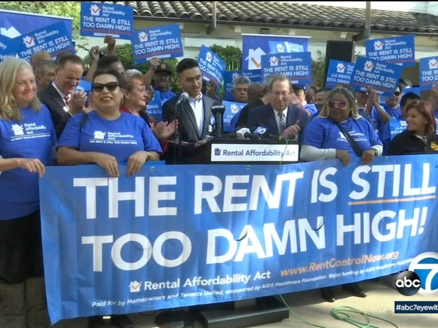 Rent control proponents make their case to CA voters as proposed bill qualifies for 2020 ballot