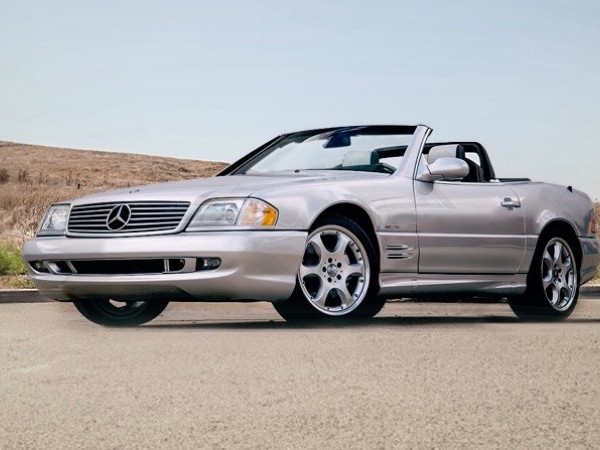 Two never-titled 2001 and 2002 Mercedes-Benz SL roadsters for sale