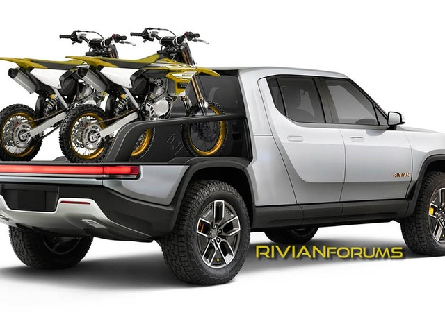 Rivian Patents Intriguing Modular Box Systems For The R1T Pickup