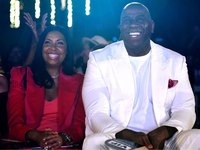 Inside Magic Johnson's star-studded 60th birthday bash in St. Tropez