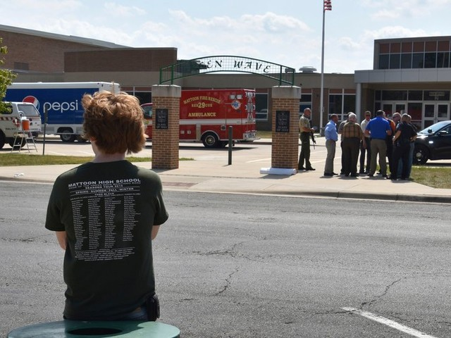 'Lives Were Saved' When Teacher Subdued Gunman at Illinois School