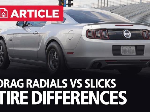 Drag Radials Vs Slicks | Tire Differences