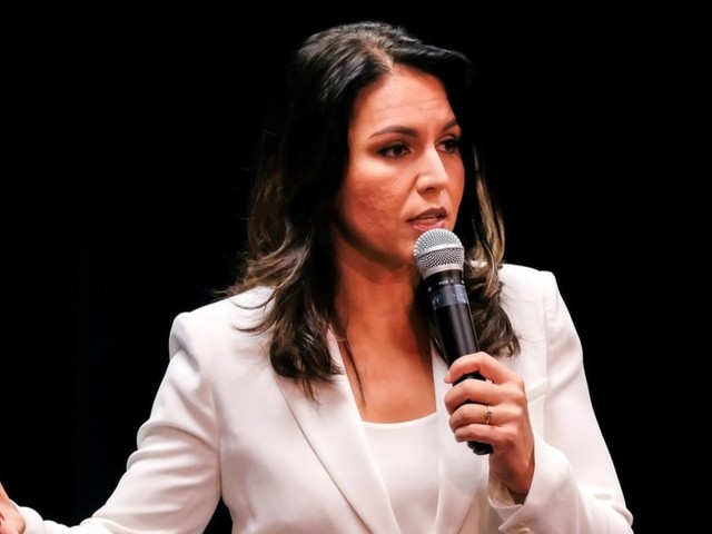 Rep. Tulsi Gabbard slams her own party during Democratic debate
