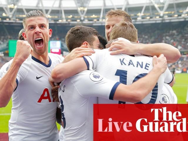 West Ham United v Tottenham Hotspur: Premier League – as it happened