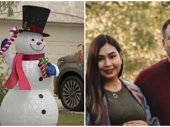 Nick & Claudia Simonis: TX Family Told to Take Down Christmas Display