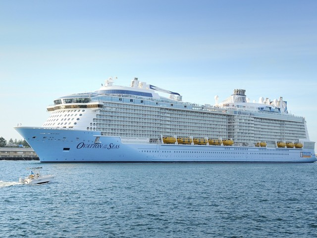 Royal Caribbean's Ovation of the Seas returning to Australia
