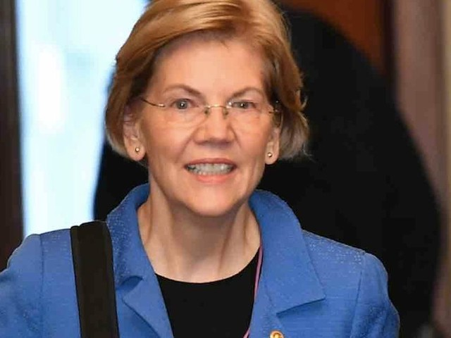 Elizabeth Warren pledges to fill at least half her Cabinet with women and 'non binary people'