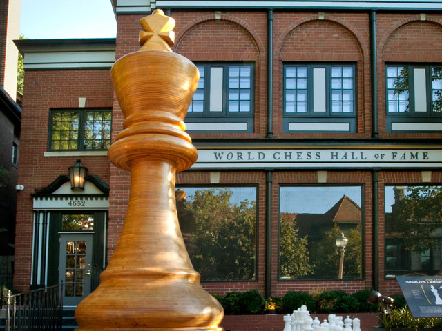 My visit to the World Chess Hall of Fame