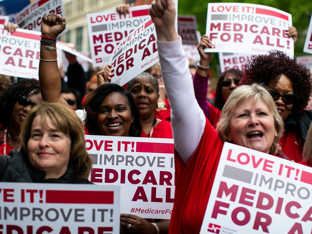 Major Nurses' Union Backs Bernie Sanders and His Push for 'Medicare for All'
