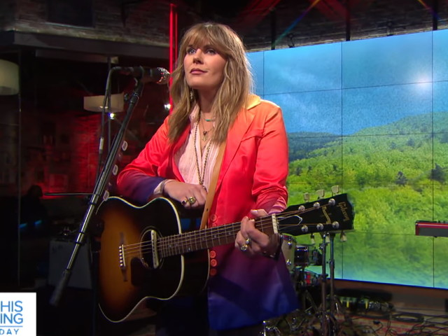 Grace Potter Performs On 'CBS This Morning'