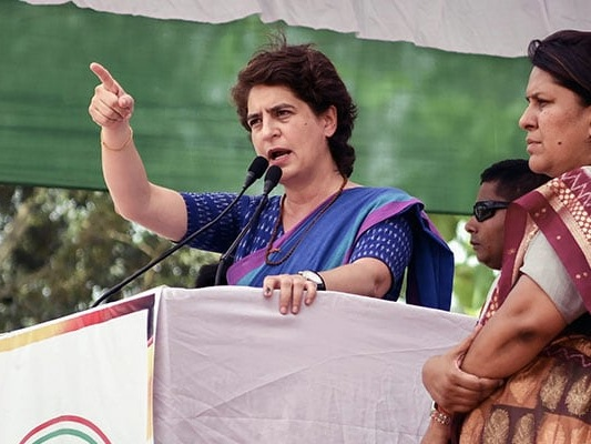 """""""How Many Jobs Have You Given In 5 Years?"""" Priyanka Gandhi To Minister"""