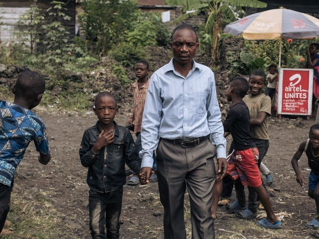 How one family survived a volcano, hundreds of earthquakes, and a missing 6-year-old over 14 hellish days in eastern Congo