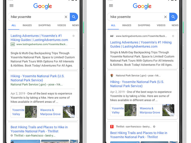 Google Makes A Design Change To Mobile Search Results