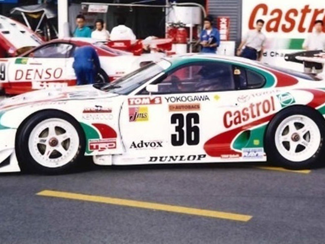 Castrol TOM's Racing Toyota Supra Found In Storage And Is Being Restored