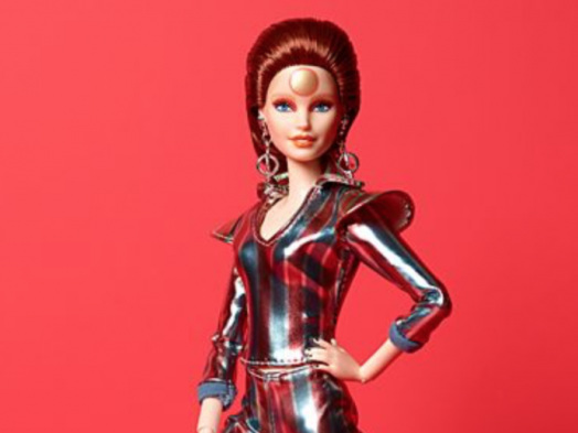 Barbie Gets Ziggy With It as Mattel Introduces a David Bowie-Inspired Doll