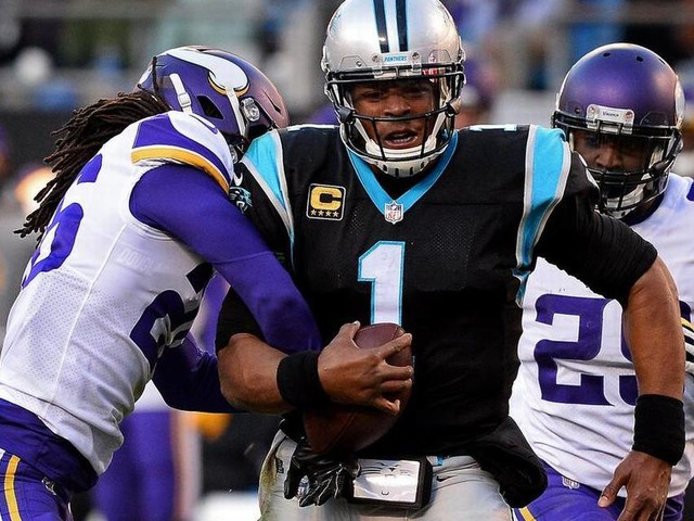 Gallery: Carolina Panthers 31, Minnesota Vikings 24