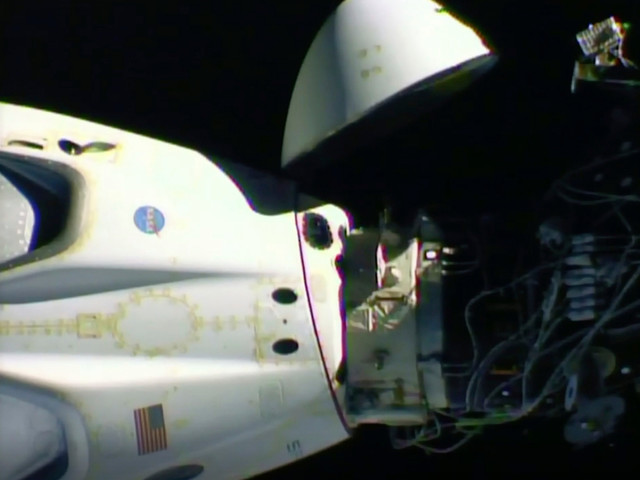 SpaceX capsule with astronauts aboard heads back to Earth