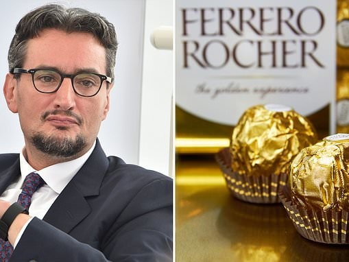 Boss of Ferrero Rocher pays family £546million in one of Europe's largest-ever payouts